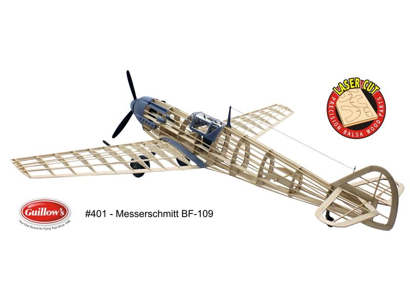 Paul K. Guillow, Inc. - Messerschmitt BF-109