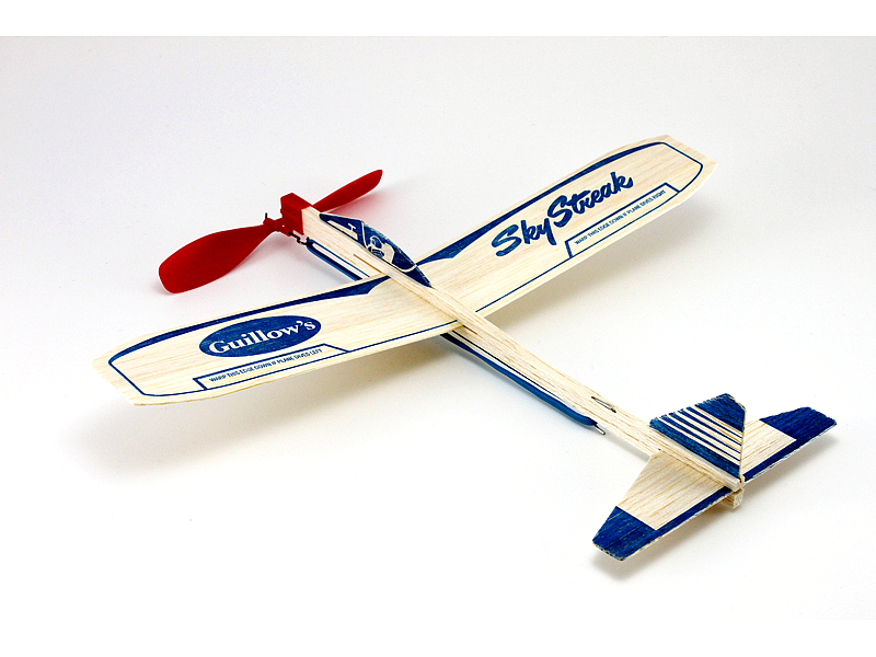 Paul K Guillow Inc Sky Streak Balsa Wood Motorplane