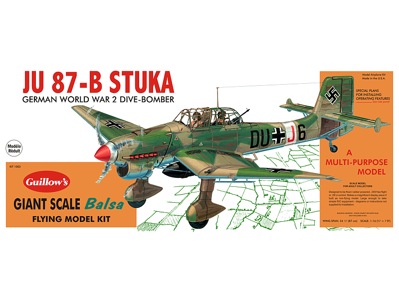 Junkers JU-87B Stuka - Paul K  Guillow, Inc