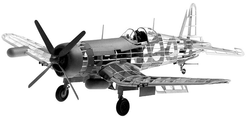 Paul K. Guillow, Inc. - Vought F4U-4 Corsair