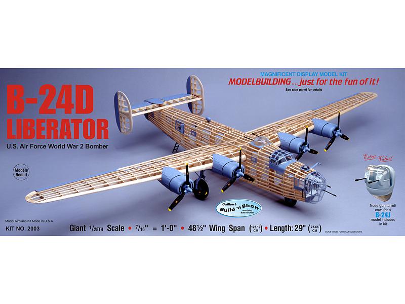 Paul K. Guillow, Inc. - B-24D Liberator
